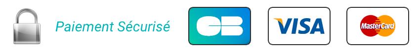 Modes de paiements disponibles sur le site